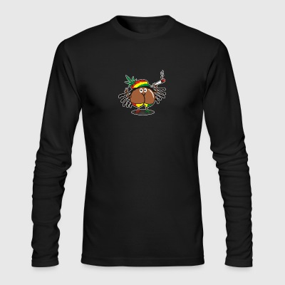 Assmex jamaica man - Men's Long Sleeve T-Shirt by Next Level