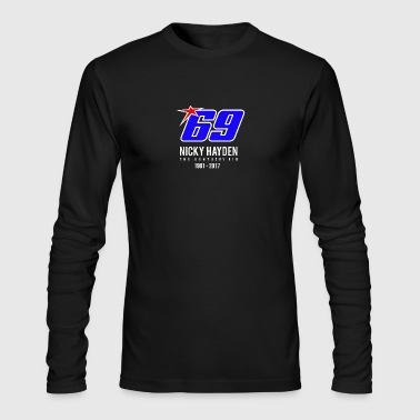 nicky Hayden RIP - Men's Long Sleeve T-Shirt by Next Level