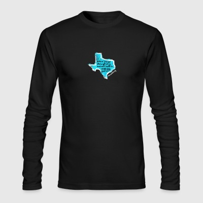 Texas Prayer - Men's Long Sleeve T-Shirt by Next Level