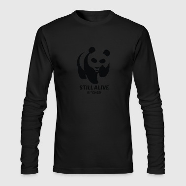 Badass Panda - Men's Long Sleeve T-Shirt by Next Level