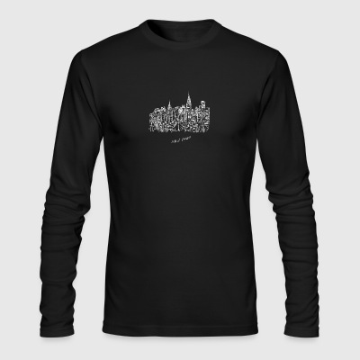 New York City - United States - Men's Long Sleeve T-Shirt by Next Level