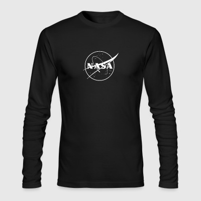 NASA logo 2 - Men's Long Sleeve T-Shirt by Next Level