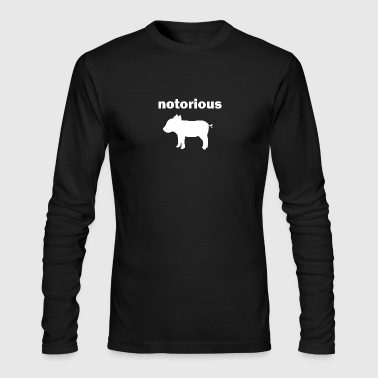 notorious pig - Men's Long Sleeve T-Shirt by Next Level