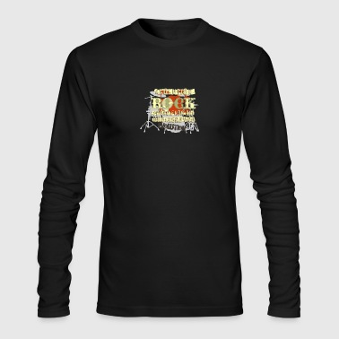 EVOLUTION ROCK - Men's Long Sleeve T-Shirt by Next Level