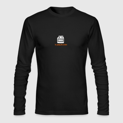 itsgettinghot - Men's Long Sleeve T-Shirt by Next Level