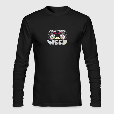 Low Tier Weeb - Men's Long Sleeve T-Shirt by Next Level