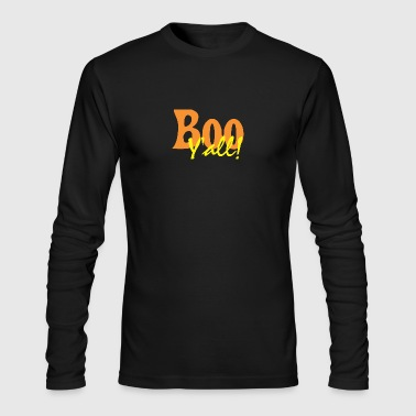 Boo Y All Halloween - Men's Long Sleeve T-Shirt by Next Level