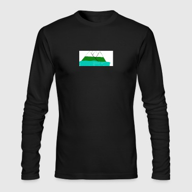 lake - Men's Long Sleeve T-Shirt by Next Level