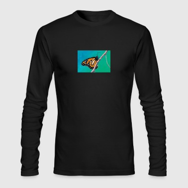 MONARCH BRANCH - Men's Long Sleeve T-Shirt by Next Level