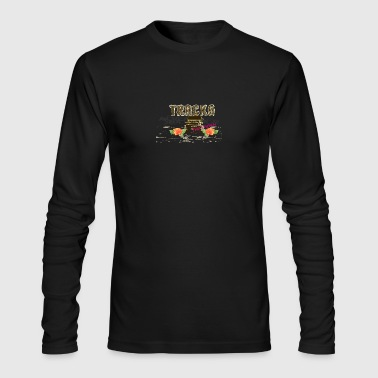 TRACKS - Men's Long Sleeve T-Shirt by Next Level