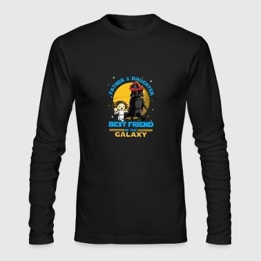 Father and Daughter in the Galaxy - Men's Long Sleeve T-Shirt by Next Level