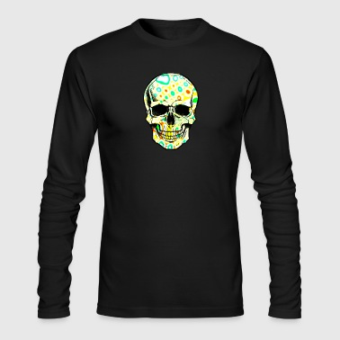 Psicodelic Skull - Men's Long Sleeve T-Shirt by Next Level