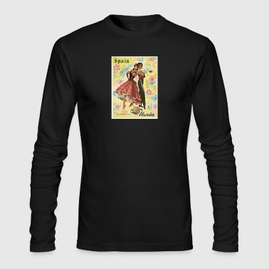 vintage spain - Men's Long Sleeve T-Shirt by Next Level
