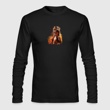 Native American - Men's Long Sleeve T-Shirt by Next Level