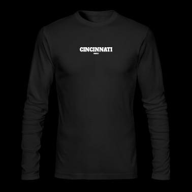 OHIO CINCINNATI US EDITION - Men's Long Sleeve T-Shirt by Next Level