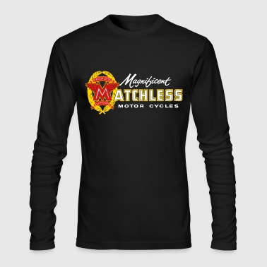matchless motor t-shirt - Men's Long Sleeve T-Shirt by Next Level