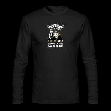 men beer - Men's Long Sleeve T-Shirt by Next Level