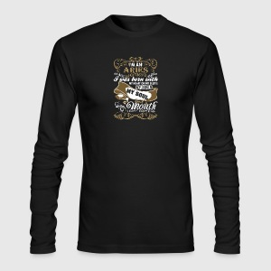 Im An Aries Woman I Was Born With My Heart - Men's Long Sleeve T-Shirt by Next Level