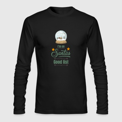 christmas - Men's Long Sleeve T-Shirt by Next Level