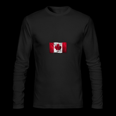 canadian flag - Men's Long Sleeve T-Shirt by Next Level