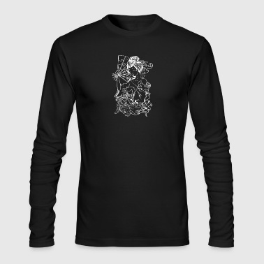 Japanese Geisha - Men's Long Sleeve T-Shirt by Next Level