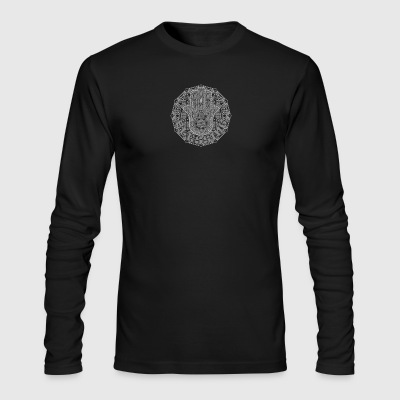 Hamsa Blessing - Men's Long Sleeve T-Shirt by Next Level