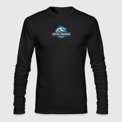 Jurassic Aquarium - Men's Long Sleeve T-Shirt by Next Level