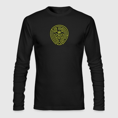 West World The Maze - Men's Long Sleeve T-Shirt by Next Level