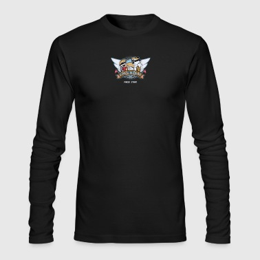 Video Game Cyber System - Men's Long Sleeve T-Shirt by Next Level