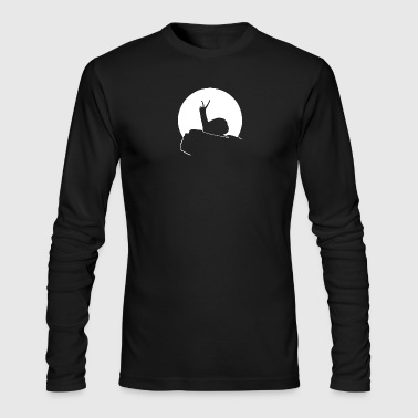 Howling Snail - Men's Long Sleeve T-Shirt by Next Level