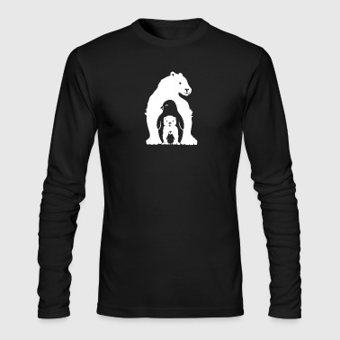 Arctic Friends - Men's Long Sleeve T-Shirt by Next Level