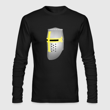 knight ritter sword schwert armor51 - Men's Long Sleeve T-Shirt by Next Level
