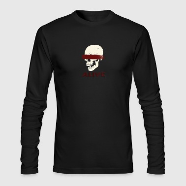 ALIVE T-Shirt - Men's Long Sleeve T-Shirt by Next Level