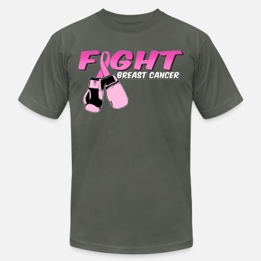 Gloves Fight Breast Cancer Pink Boxing Gloves - Unisex Jersey T-Shirt