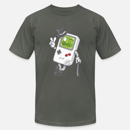 Gaming T-Shirts - Game Boy - Men's Jersey T-Shirt asphalt