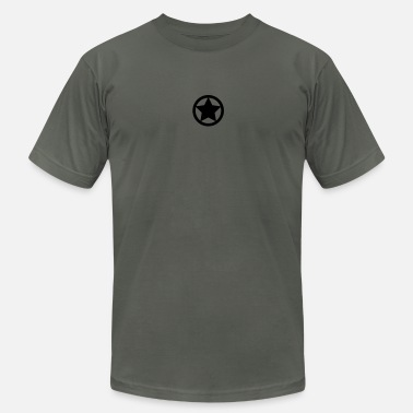 Circle Star Star and circle - Men's Jersey T-Shirt