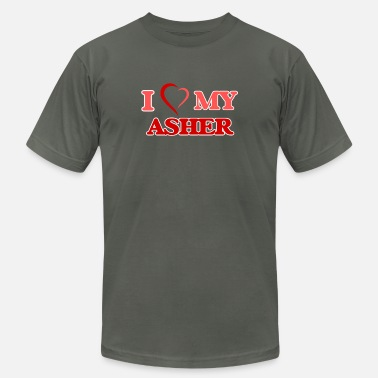 Asher I love my Asher - Men's  Jersey T-Shirt