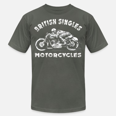 Cafe british rider - Unisex Jersey T-Shirt