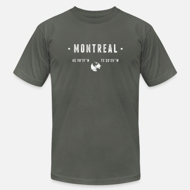 Coordinates Montreal - Unisex Jersey T-Shirt
