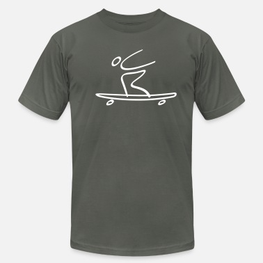 Extreme Extreme Longboarding - Men's  Jersey T-Shirt