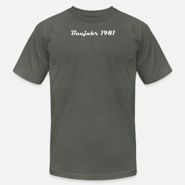 1981 Year Baujahr 1981 Year of birth - Men's Fine Jersey T-Shirt
