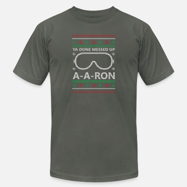 Done A-A-Ron Christmas - Unisex Jersey T-Shirt