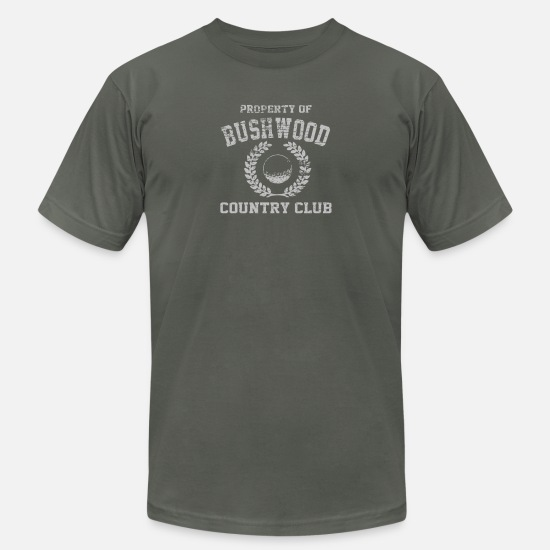 Country T-Shirts - Property Of Bushwood - Men's Jersey T-Shirt asphalt