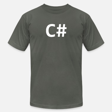 Sharp C Sharp (programming language) - Unisex Jersey T-Shirt