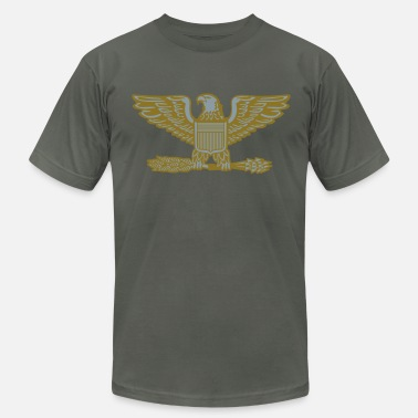 Lieutenant Colonel Army Colonel COL Rank, Mision Militar ™ - Men's Fine Jersey T-Shirt