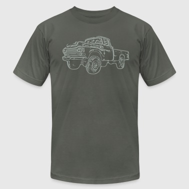 gnarlyTruck - Men's Fine Jersey T-Shirt