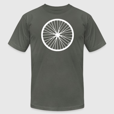 bicycle wheel - Men's Fine Jersey T-Shirt