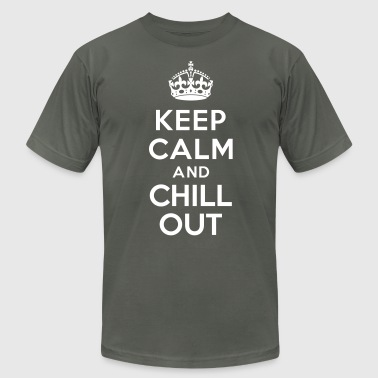 Keep calm and Chill out - Men's Fine Jersey T-Shirt
