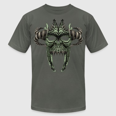Skull Mask No.1A - Men's Fine Jersey T-Shirt