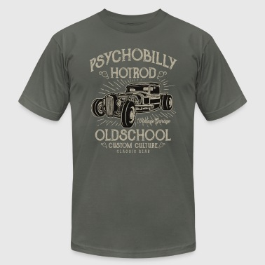 Psychobilly Hotrod - Men's Fine Jersey T-Shirt